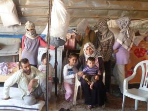 Burhans Familie, die nun massiv bedroht wurde