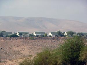 Illegale israelische Siedlung im Jordantal